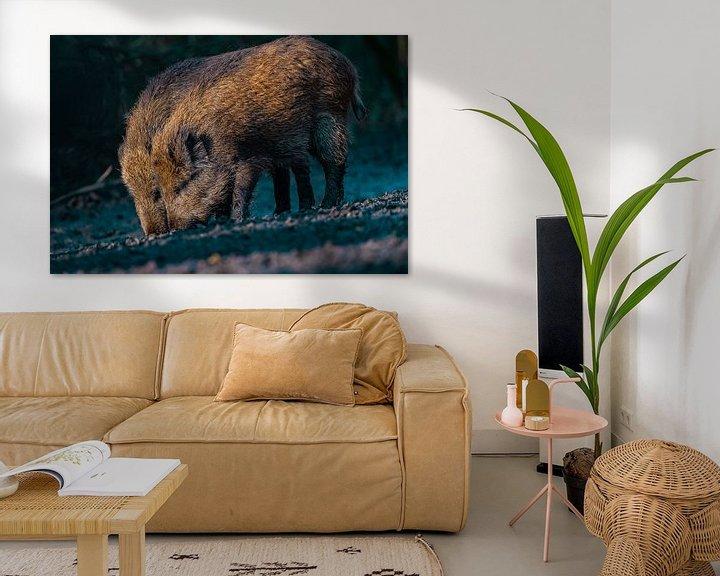 Beispiel: Wildschweinbrüder von bryan van willigen
