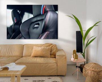 Intérieur de la BMW M2 CS sur Bas Fransen