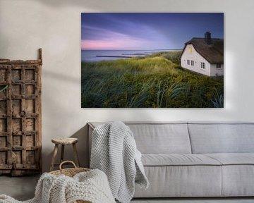 Huis in de duinen (Grimmelei / Ahrenshoop) van Dirk Wiemer