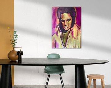 The King is Alive van Helia Tayebi Art
