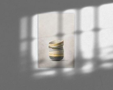 Gestapelte Keramiken