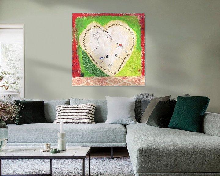 Sfeerimpressie: A heart for everyone van keanne van de Kreeke