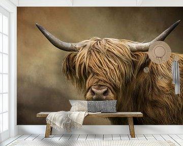 Schotse Hooglander Portret van Diana van Tankeren