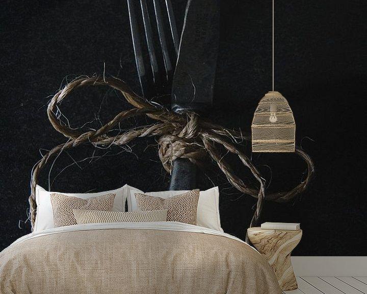 Sfeerimpressie behang: Een perfect koppel van Chantal Elsinga