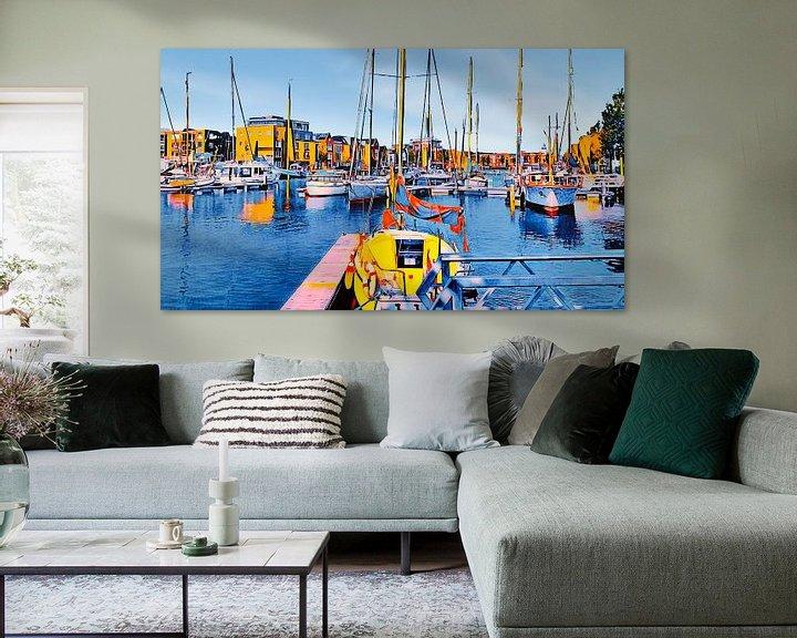 Beispiel: Zuiderhaven Harlingen von Digital Art Nederland