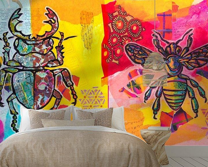 Impression: Insectes sur Ariadna de Raadt-Goldberg