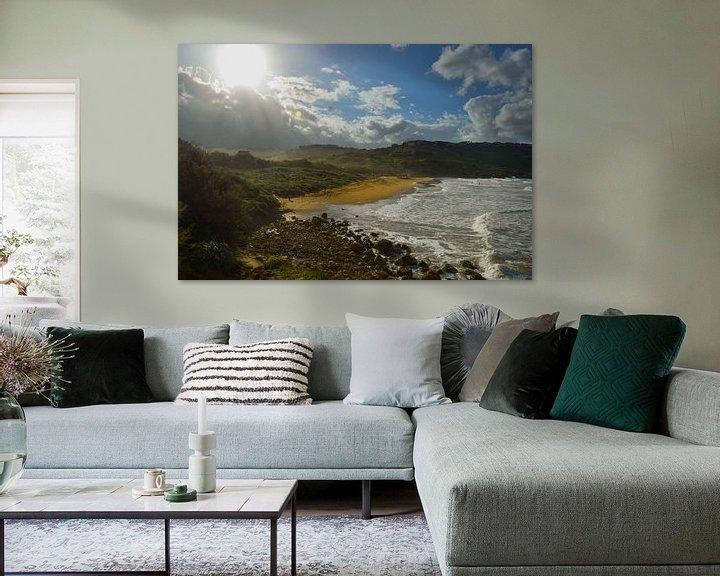 Sfeerimpressie: Strand van Gozo van Sander Hekkema