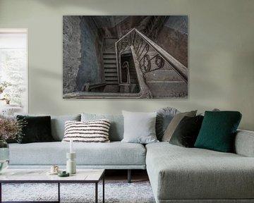 Verlassenes Treppenhaus von Maikel Brands