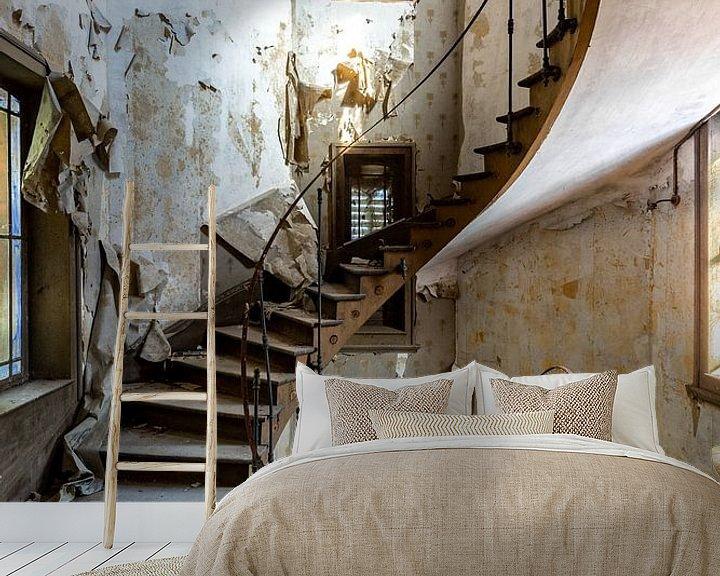 Beispiel fototapete: Die Treppe zum Himmel von William Linders