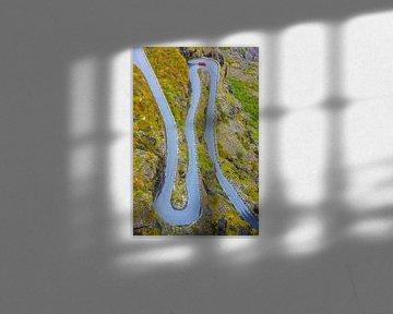 Bergstraße Trollstigen, Møre og Romsdal, Norwegen