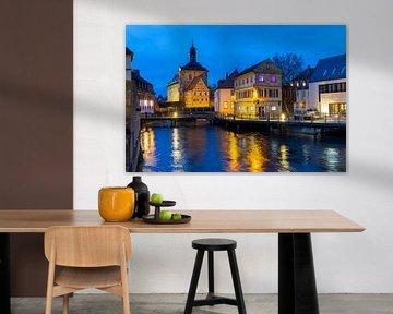Bamberg Mühlviertel 's avonds