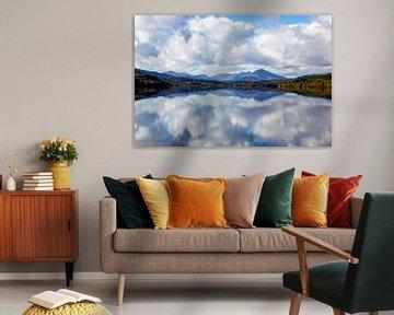 Réflexion Loch Eil - Ecosse sur Amber Koehoorn
