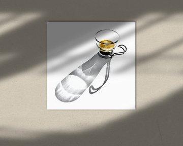 CAFFÈ LUNGO café cappuccino macchiato ristretto koffie van Borgo San Bernardo
