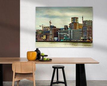 Hafengebäude Rotterdam von Mariska Asmus