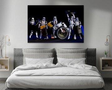 Stormtroopers im Fotostudio von Ton de Koning