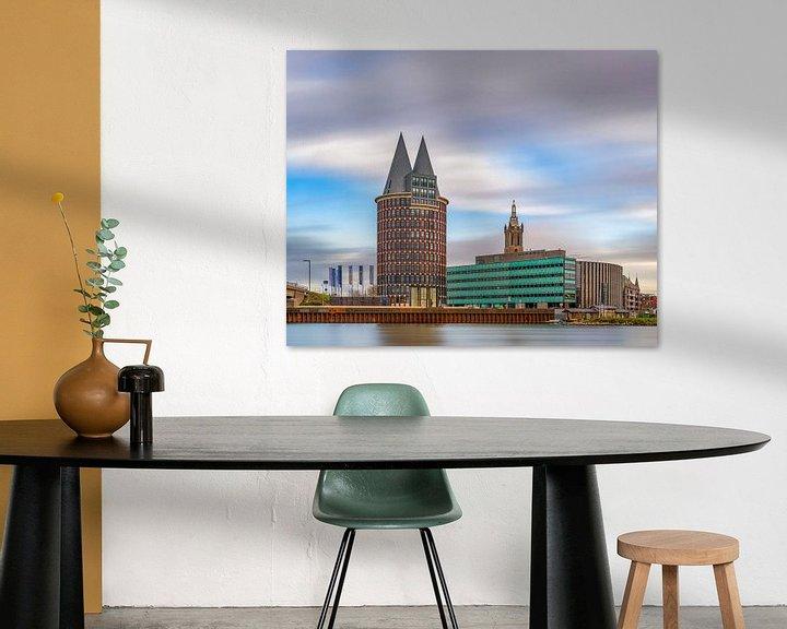 Sfeerimpressie: Roermond - Skyline - lange sluitertijd van Teun Ruijters