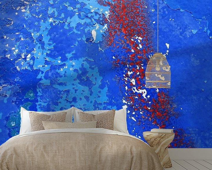 Sfeerimpressie behang: Urban Abstract 166 van MoArt (Maurice Heuts)