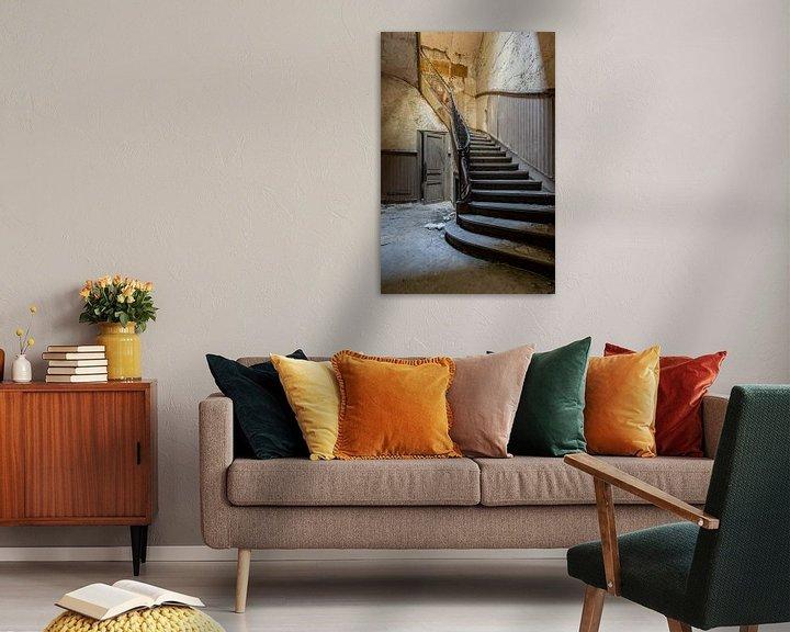 Impression: Escaliers abandonnés sur William Linders