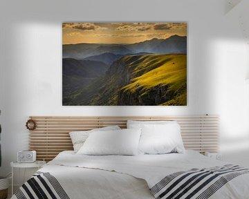 Zonsondergang in het Durmitor N.P van Antwan Janssen