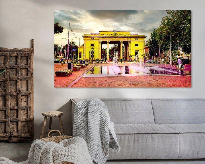 Beispiel: Haarlemmerpoort Amsterdam von Digital Art Nederland