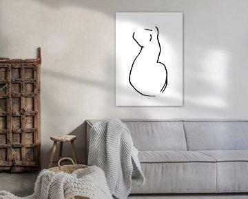 Katze Silhouette von Qeimoy