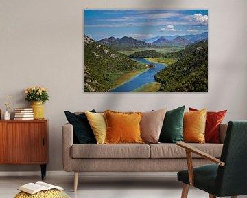 lake Shkoder van Antwan Janssen