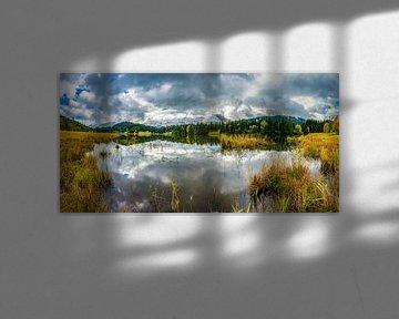 Wolken über dem Geroldsee von Walter G. Allgöwer