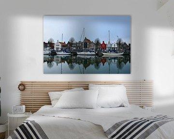 Hafen mit Segelbooten in der Altstadt von bart hartman