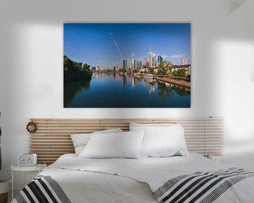 Skyline van Frankfurt am Main van Anouschka Hendriks