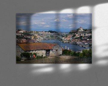 Blick über Porto und den Douro von Sander Hekkema