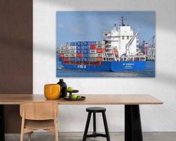 BG Emeraude dans le port de Rotterdam