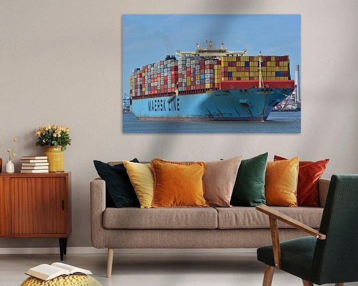 Sfeerimpressie: Maersk Essex van Piet Kooistra