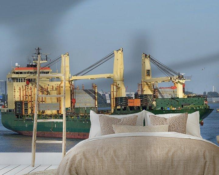 Impression: Zea Tokyo dans le port sur Piet Kooistra