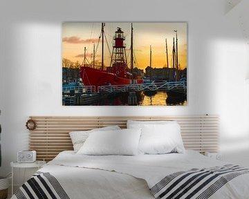 Feuerschiff Texel von Bert de Boer