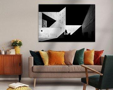 architectuur in zwart en wit van Affect Fotografie
