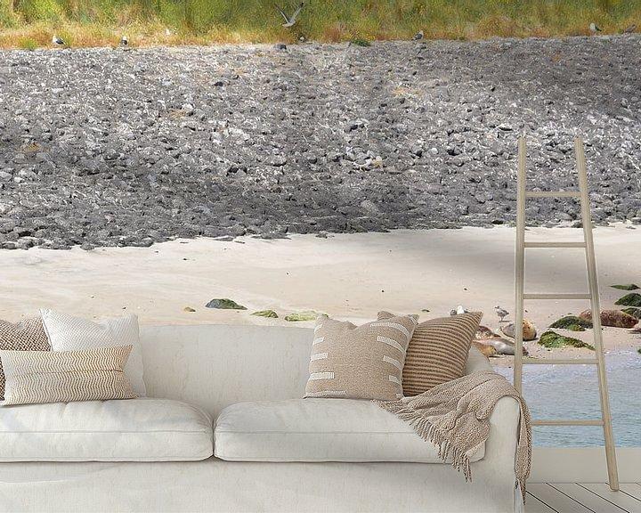 Sfeerimpressie behang: Zeehonden in de zon van Piet Kooistra