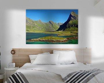 Kleurenspel op de Lofoten van Reinhard  Pantke
