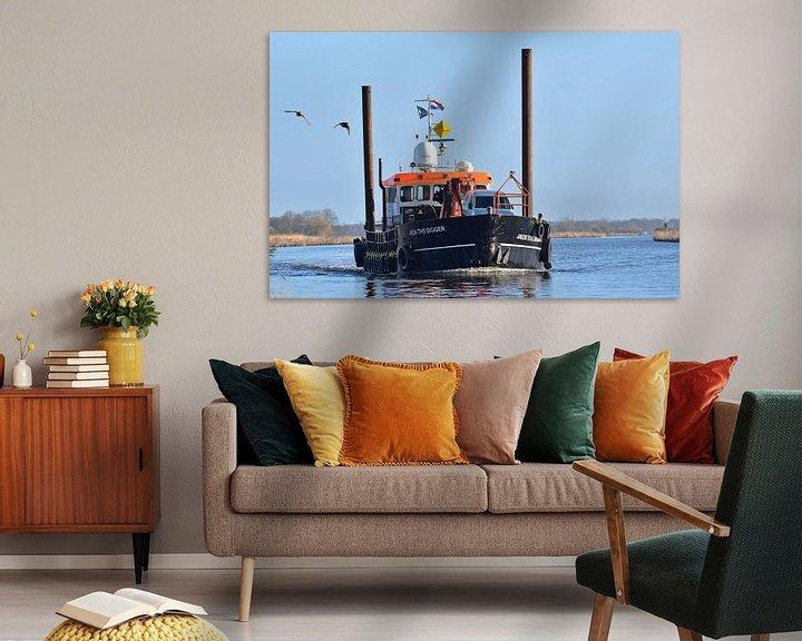 Sfeerimpressie: Werkschip Jack the Digger van Piet Kooistra