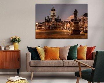 Stadtbild Delft von Manuuu S