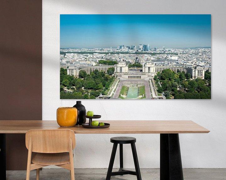Beispiel: Blick vom Eiffelturm von Sven Frech