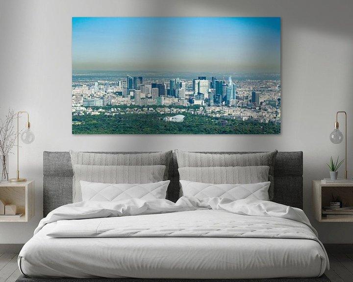 Beispiel: Skyline von Paris von Sven Frech