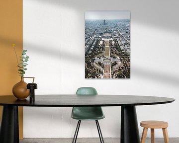 Blick vom Eiffelturm von Sven Frech
