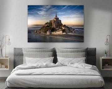 Mont Saint-Michel von Edwin van Wijk