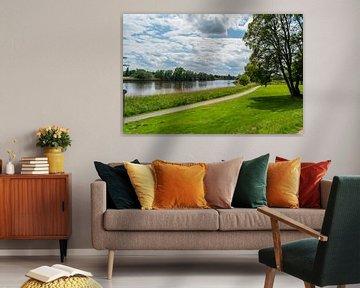 Een fotosafari door het Knoops Park in Bremen aan de rivier Lesum van Matthias Korn