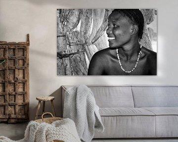 Jonge vrouw in Afrika van Tilo Grellmann | Photography