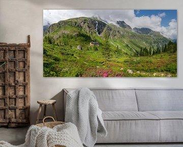 Panorama de la Gollinghütte dans le Schladminger Tauern sur Coen Weesjes