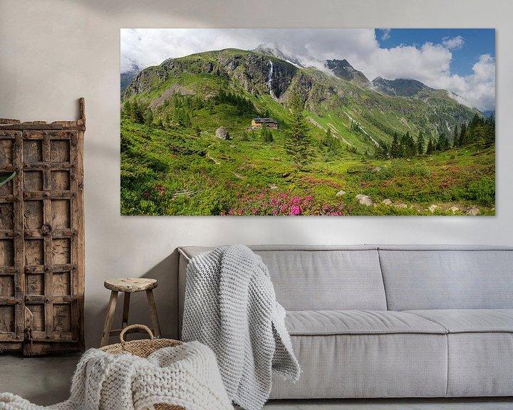 Sfeerimpressie: Panorama Gollinghütte in de Schladminger Tauern van Coen Weesjes