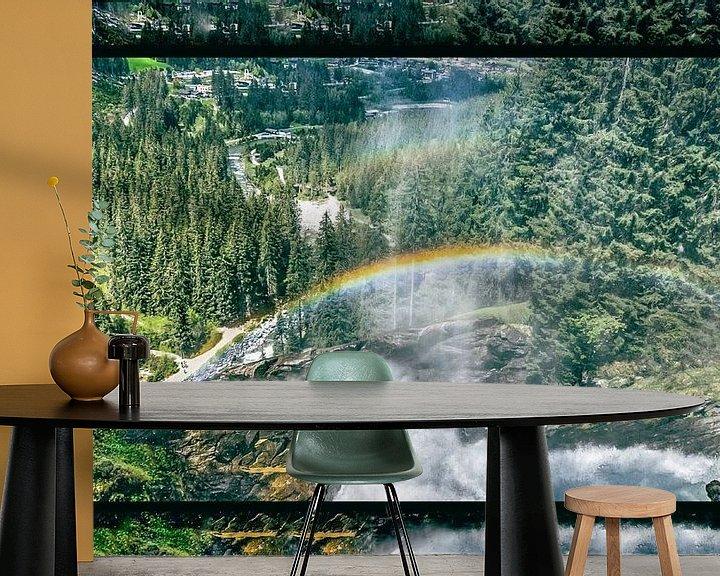 Sfeerimpressie behang: Rainbows on a clear day van Henk Schmitz