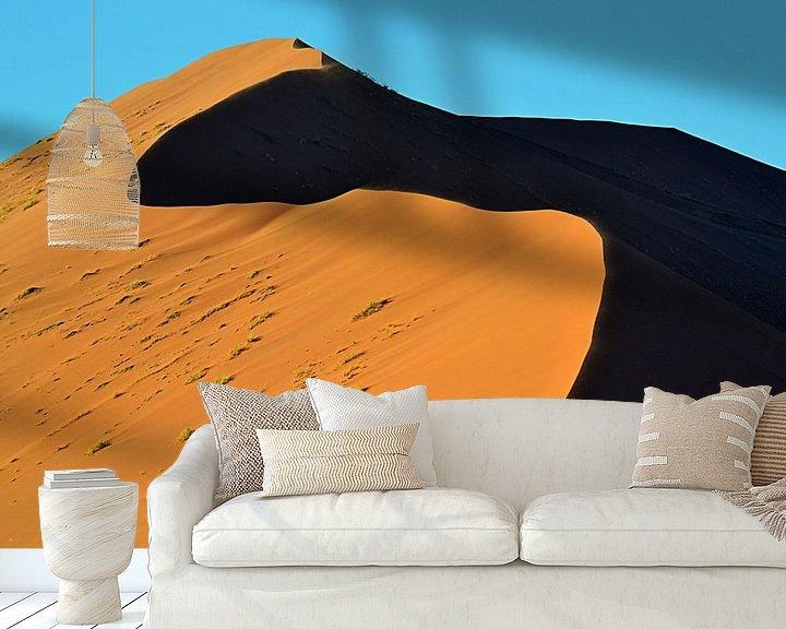 Sfeerimpressie behang: Sossusvlei / Namibië van JTravel