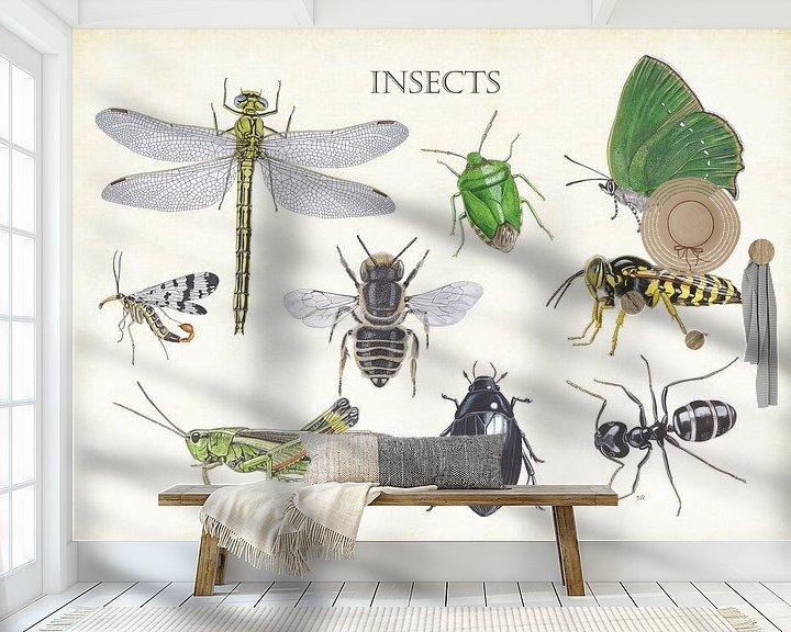 Beispiel fototapete: Insekten von Jasper de Ruiter